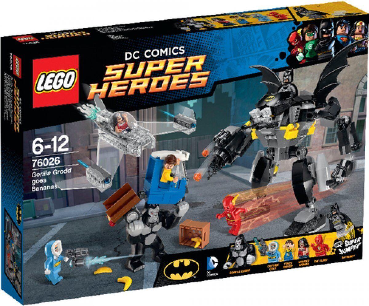 LEGO 76026 DC Universe Super Heroes Gorilla Grodds Wutanfall  Neu & OVP