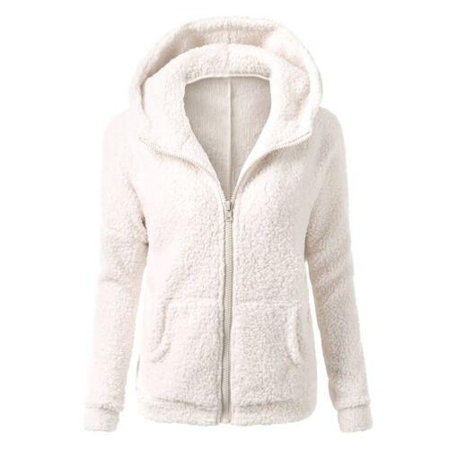Women/'s Thicken Fleece Pelz Warm Winter Mantel Kapuzen Parka Overcoat Jacke.