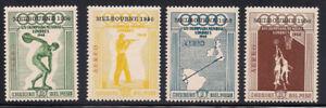 Peru-1948-Sc-C78-81-Perf-13-Olympic-MNH-2-8319-5