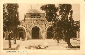 JERUSALEM (Palestine): Mosque El-Aksa -LIVIDAS & COUTSICOS