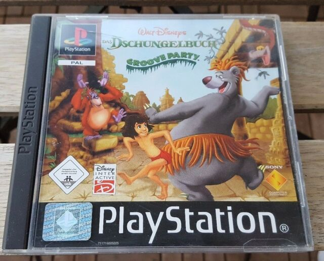 Dschungelbuch Groove Party Sony PlayStation 1 PS1 Spel Game +OVP +Anleitung