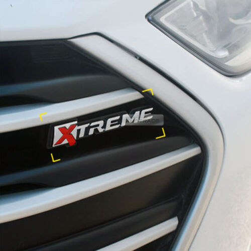 Front Hood Radiator Grille Xtreme Emblem Badge for HYUNDAI 2017-2018 Elantra AD