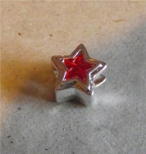 Silver Plated Charm for Charm Bracelets Star Carriage Hearts Pink Ribbon