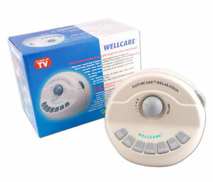 Details about Sound relaxation machine by wellcare - naturcare white noise  tinnitus aids sleep