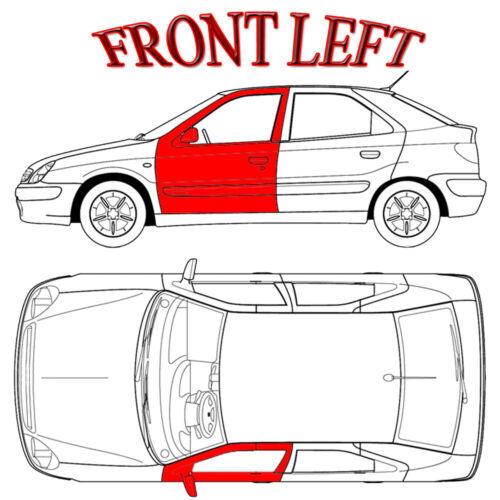 Fits 1998-2010 Volkswagen New Beetle Hardtop Left Front Window Regulator Kits