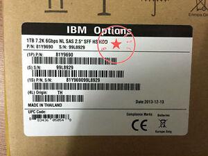 New-IBM-81Y9690-81Y9691-NEW-IBM-1TB-7-2K-6GBPS-2-5IN-SFF-NL-SAS-HARD-DRIVE