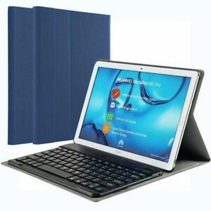 KILISON-Huawei-MediaPad-M5-10-8-Tastiera-Custodia-Cover-Slim-Pelle-PU-Custodi