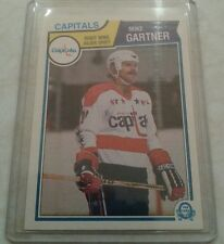 1983-84 OPC O-PEE CHEE Washington Capitols Mike Gartner Card 369