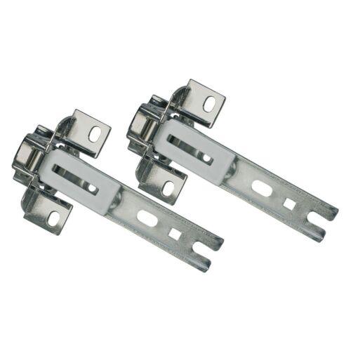 NEU 2 x Türscharnier Kühlschrank wie Bosch Balay Constructa NEFF Siemens 268698
