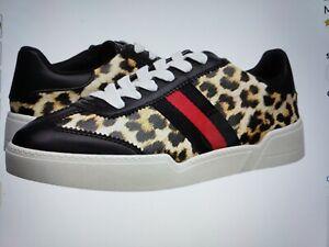 Fiona Sneaker, Leopard Print, Size 7.5M