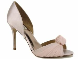 f9ef354cbb9 Badgley Mischka Women s Musica d Orsay Dress Pumps Pink Satin 8.5 M ...