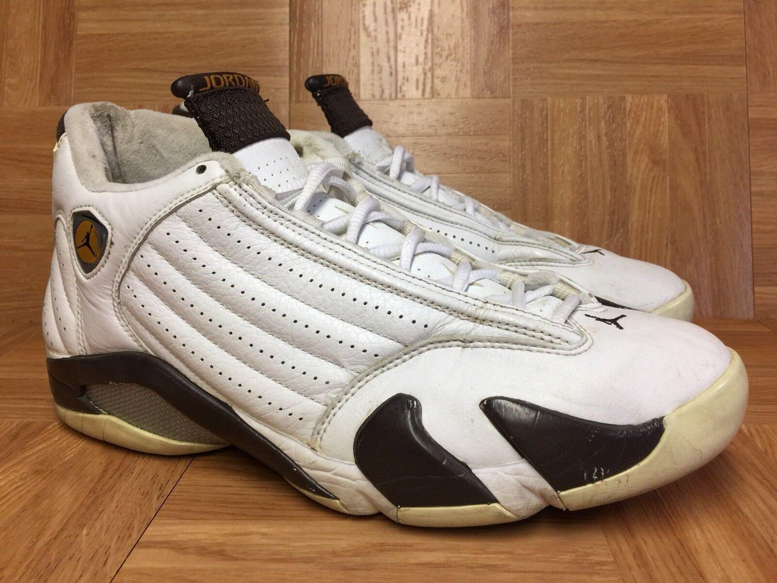 RARE Nike Air Jordan 14 XIV Retro Dark Cinder Chutney '05 10.5 311832-121 VTG