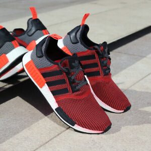 157335baa adidas NMD R1 S79158 Lush Red White Black NMD Orange Infrared Boost ...