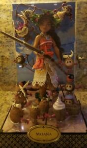 Disney-Designer-Doll-Folktale-Collection-MOANA-Doll-Set-Limited-Edition-NEW