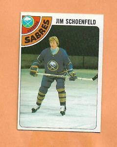 JIM-SCHOENFELD-TOPPS-1978-79-CARD-178-SABRES