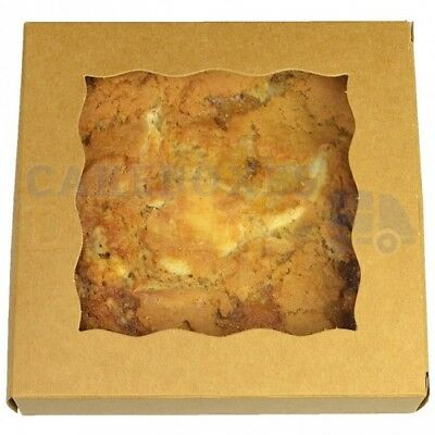 ORDERED B4 1PM 250 x KRAFT COOKIE BOX NEXT DAY DELIVERY