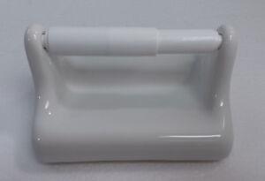 Vintage-White-Ceramic-TP-Toilet-Paper-Holder-Porcelain-Mid-Century-Modern-Retro