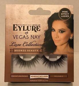 df9676c2e9f Image is loading Eylure-Vegas-Nay-False-Eyelashes-Luxe-Collection-Bronze-