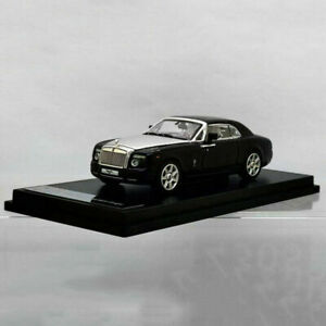 Original-Factory-Diecast-Car-Model-Rolls-Royce-Phantom-Coupe-in-1-64-Scale-Black