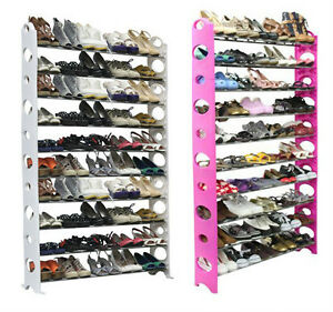 Ten-Tier-Shoe-Rack-with-Capacity-for-Fifty-Pairs