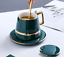 Creative-Drawing-gold-Porcelain-Tea-Cup-and-Saucer-Coffee-Cup-Set-With-Spoon-Lid thumbnail 10