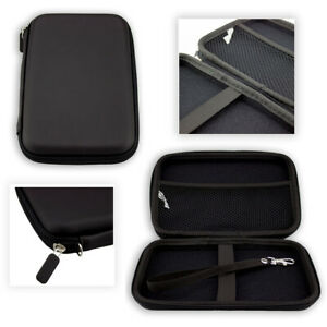 caseroxx GPS-Case for Garmin camper 660LMT-D EU in black made of faux leather