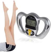 Handheld Body Tester Care Analyzer Bmi Meter Calculator Monitor Slim Memory Fat