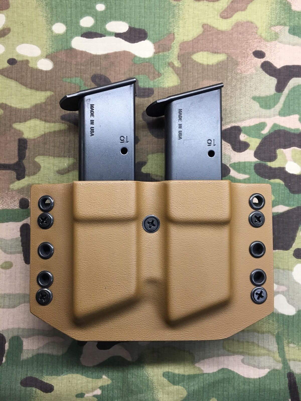 Coyote P250 Tan  Kydex SIG P250 Coyote P320 Dual Magazine Carrier PIC 6abb47