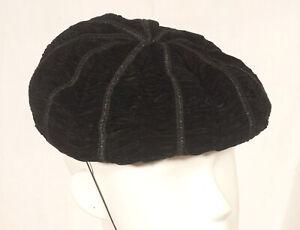 Années 60 français vintage soirée chapeau taille 54-S