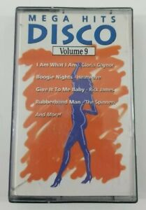 Mega Hits Disco Volume 9 Cassette Tape 1991 Priority Records