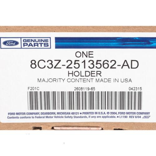2008-2010 Ford F250 F350 F450 Super Duty Dashboard Cup Holder Stone Gray OEM NEW