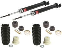 Rear Shock Absorbers Kit + Mounting Kit + Dust Sleeves Fits Nissan Altima 07-12 on sale