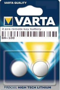 2 original varta schl ssel batterie peugeot 206 sw 206cc. Black Bedroom Furniture Sets. Home Design Ideas