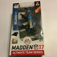"Madden NFL 17 Ultimate Team Cam Newton Carolina Panthers 7/"" Action Figure MIB"