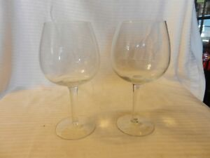 Pair-of-Clear-Wine-Glasses-with-Etched-Initials-ILY-7-125-034-Tall