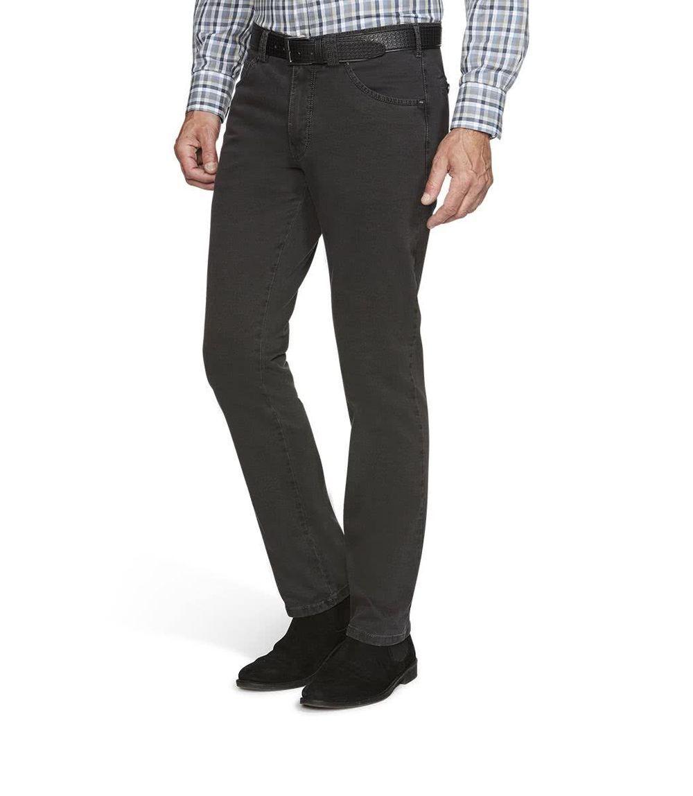 MEYER Uomo Stretch Pantaloni Jeans Dublino con cintura 2-5557 08 ANTRACITE