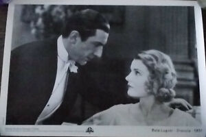 Details about DRACULA -1931- BELA LUGOSI and HELEN CHANDLER Miniposter