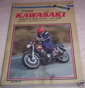 kawasaki kz400 1974 1984 service repair manual