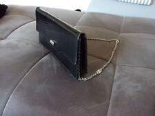 Borsa pelle coccodrillo baby autentica anni 70 vintage borsetta Germania RICHE