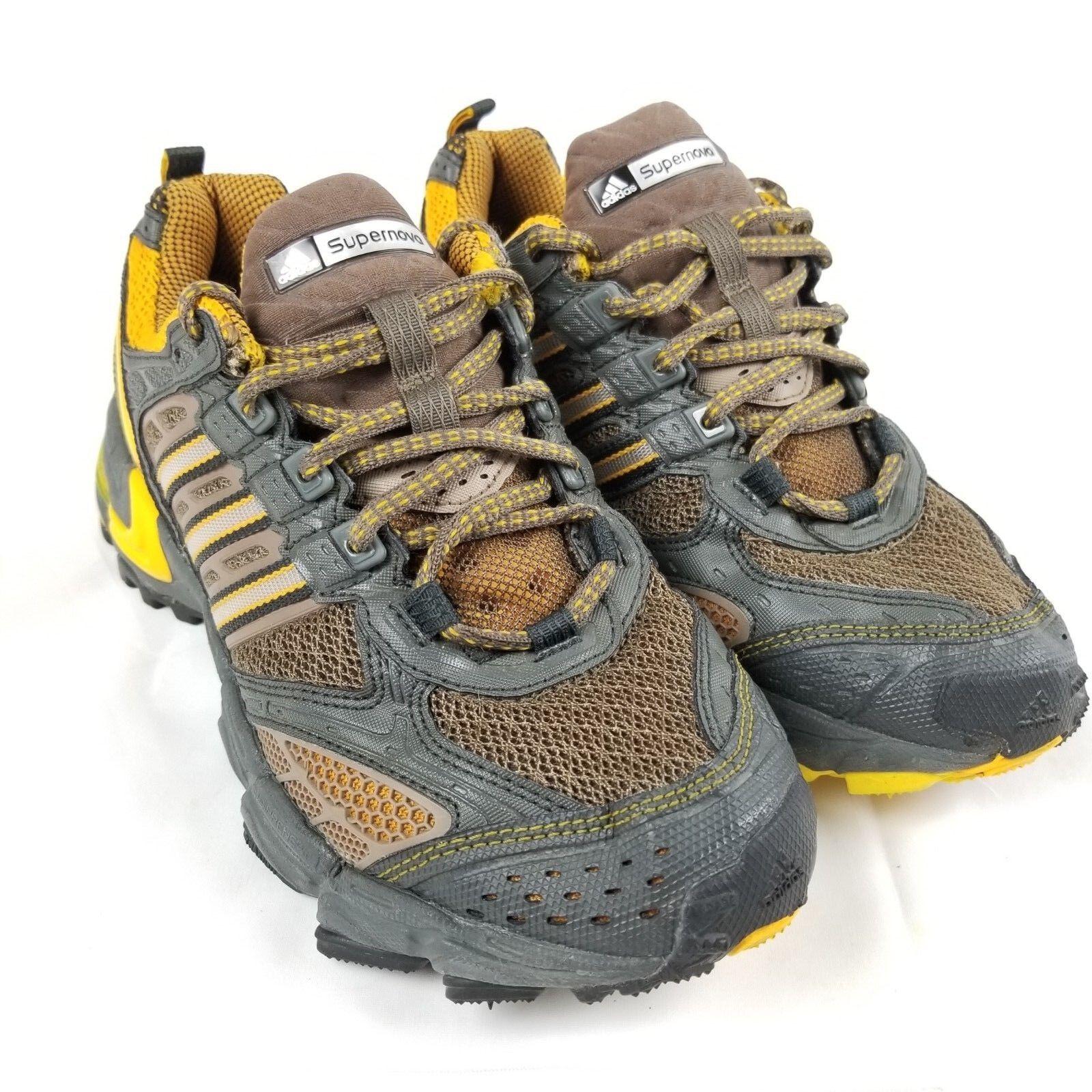 ADIDAS Supernova Formotion Men Sz 7 Brown gold Running Training Athletic shoes