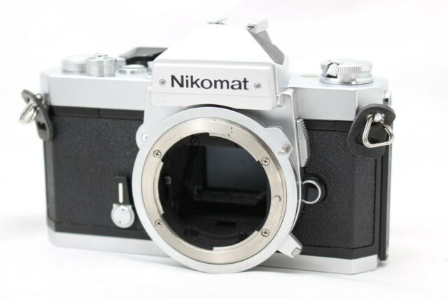 Nikon Nikomat FT2 35mm SLR Film Camera Body Only *Working* #D000g