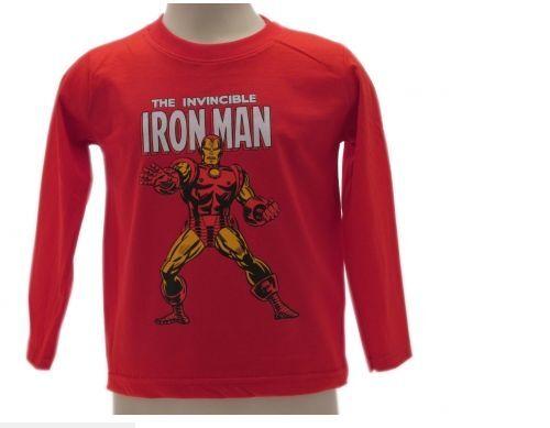 T Shirt M//L Marvel Avengers Iron Man  abbigliamento maglietta iron man supereroi