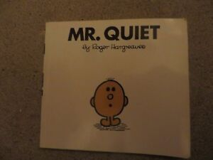 Mr quiet  Roger Hargreaves Mr men childrens book - birmingham, West Midlands, United Kingdom - Mr quiet  Roger Hargreaves Mr men childrens book - birmingham, West Midlands, United Kingdom