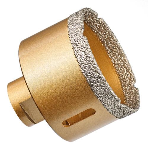 GraniFix® Ø 65 mm Diamantbohrer M14 Bohrkrone Fliesenbohrer Trockenbohrer Granit