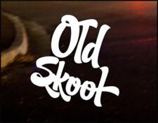 OLD SKOOL, Car Decal Vinyl JDM Sticker Golf Dub Euro Polo Camper T4 T5