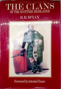 The Clans of the Scottish Highlands James Logan illustrated hardback dust jacket