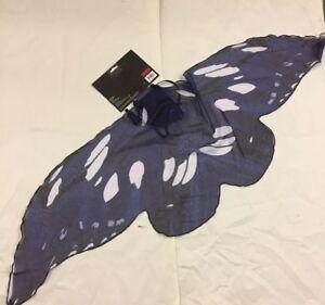 FunWorld Adult Fairy Wings Blue//black