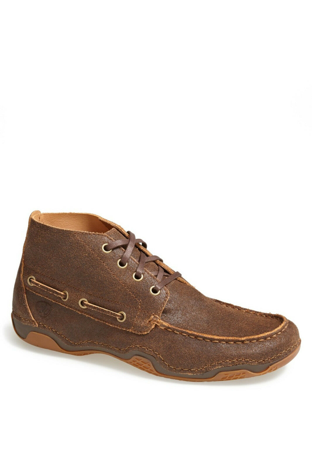 ARIAT HOLBROOK  CHUKKA BOOT WEATHEROT WOOD  HOLBROOK Herren SIZE 8 NEW WITH BOX 5a990f