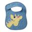 縮圖 2 - Mud Pie E7 Safari Baby Girl Giraffe Or Elephant Feeding Bib 1552288
