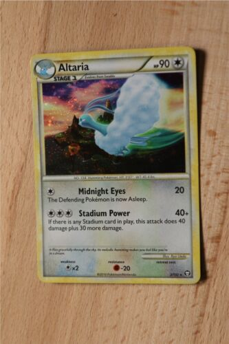 HS Triumphant Holo Foil Rares Prime Pokemon Cards